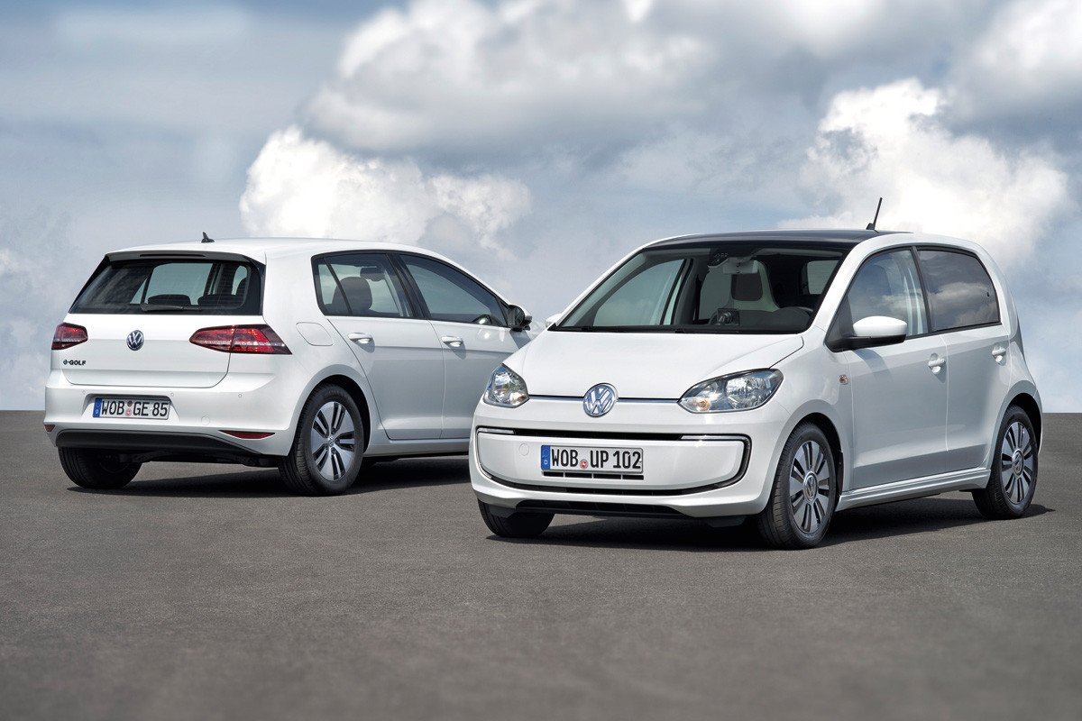 Volkswagen e-up! y Volkswagen e-Golf