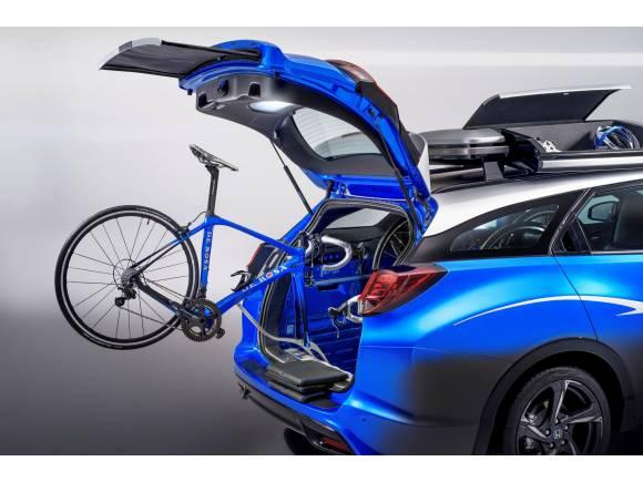El Civic Tourer Active Life Concept debuta en el salón de Frankfurt