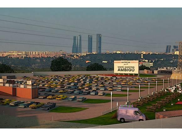Autocine Madrid RACE: abre sus puertas el 24 de febrero