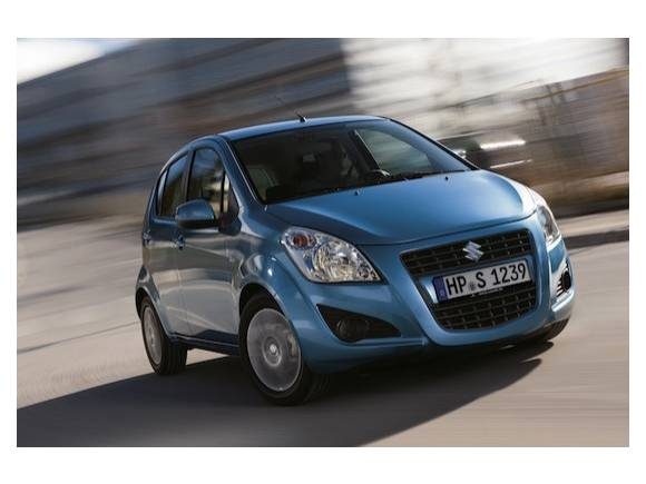 Nueva cara para el Suzuki Splash 2012