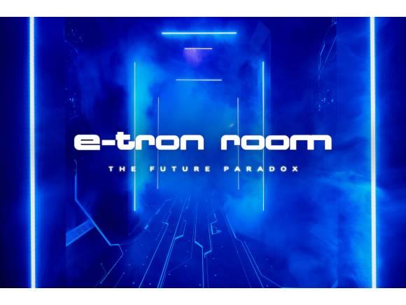Experiencia de hiperrealidad The e-tron room de Audi