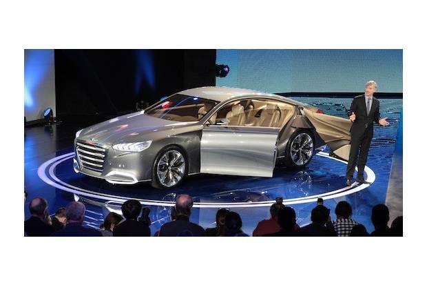 Hyundai muestra su futuro con el HCD-14 Genesis