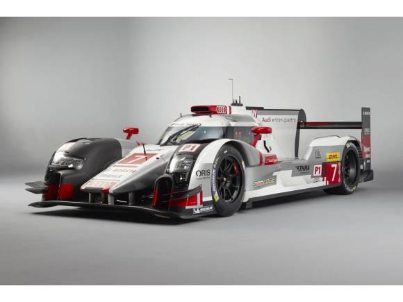 Audi presenta el nuevo R-18 e-tron quattro 2015