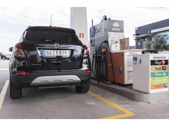 Gama Opel de coches propulsados con GLP