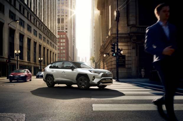 El Toyota RAV4 hybrid se actualiza en 2020