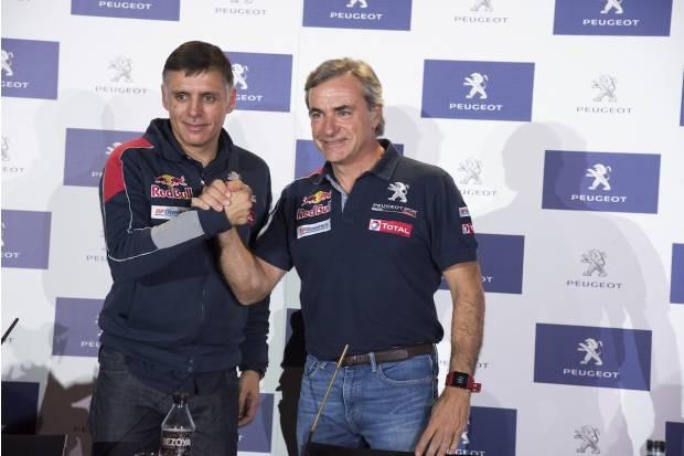 Carlos Sainz y Lucas Cruz a por el Dakar 2018 con Peugeot