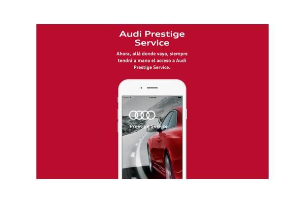 Audi Prestige Service, la nueva app de la marca de los cuatro aros