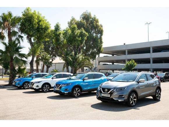 Venta coches febrero 2019: Nissan Qashqai y Peugeot en cabeza