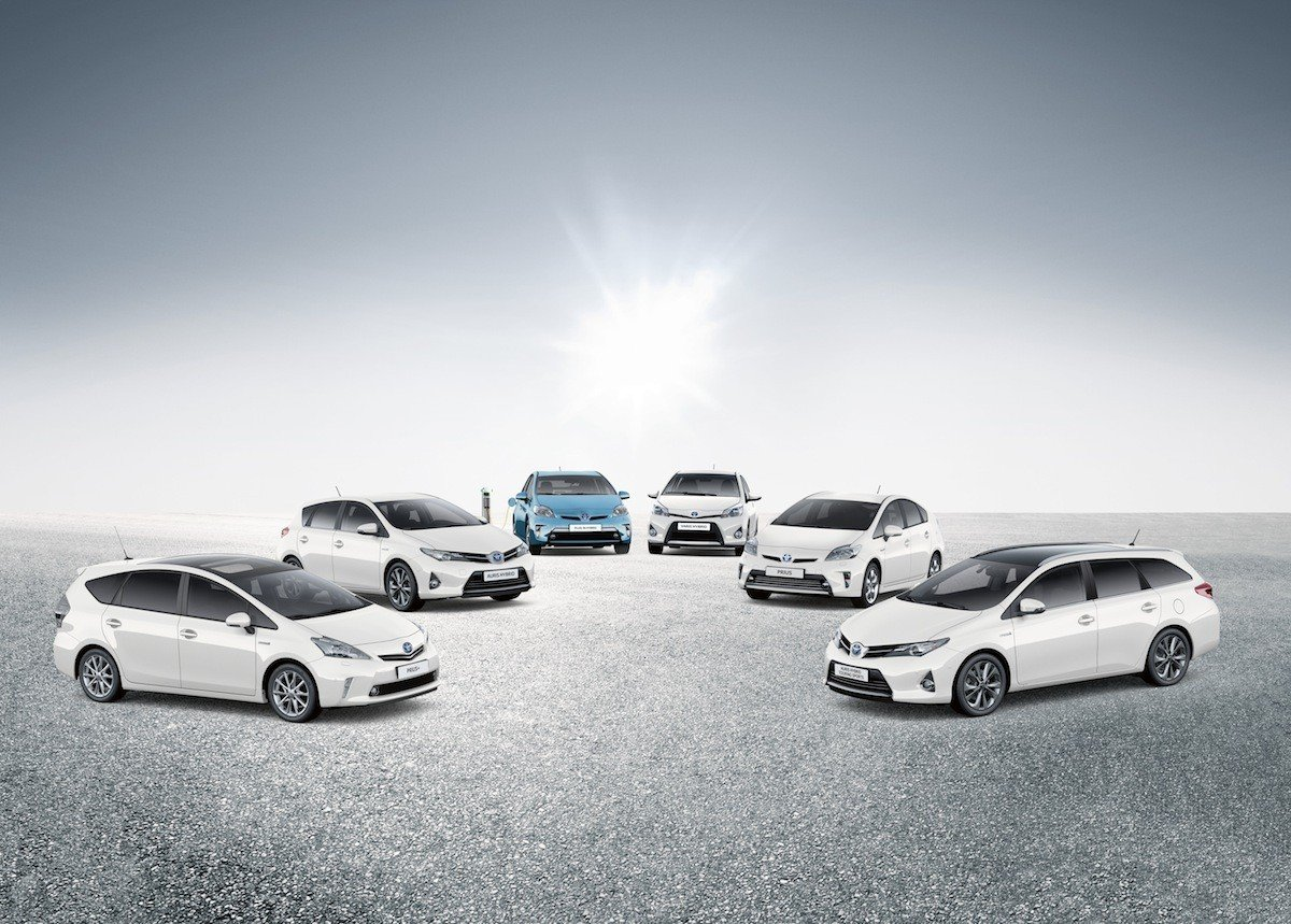 Toyota Gama Coches Híbridos 2013