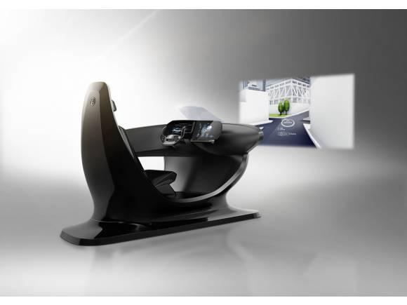 El puesto de conducción del futuro según Volkswagen