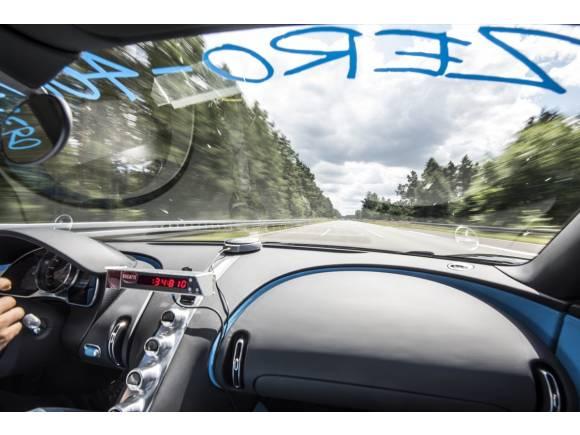 Récord mundial para el Bugatti Chiron: 0-400-0 km/h en 42 segundos