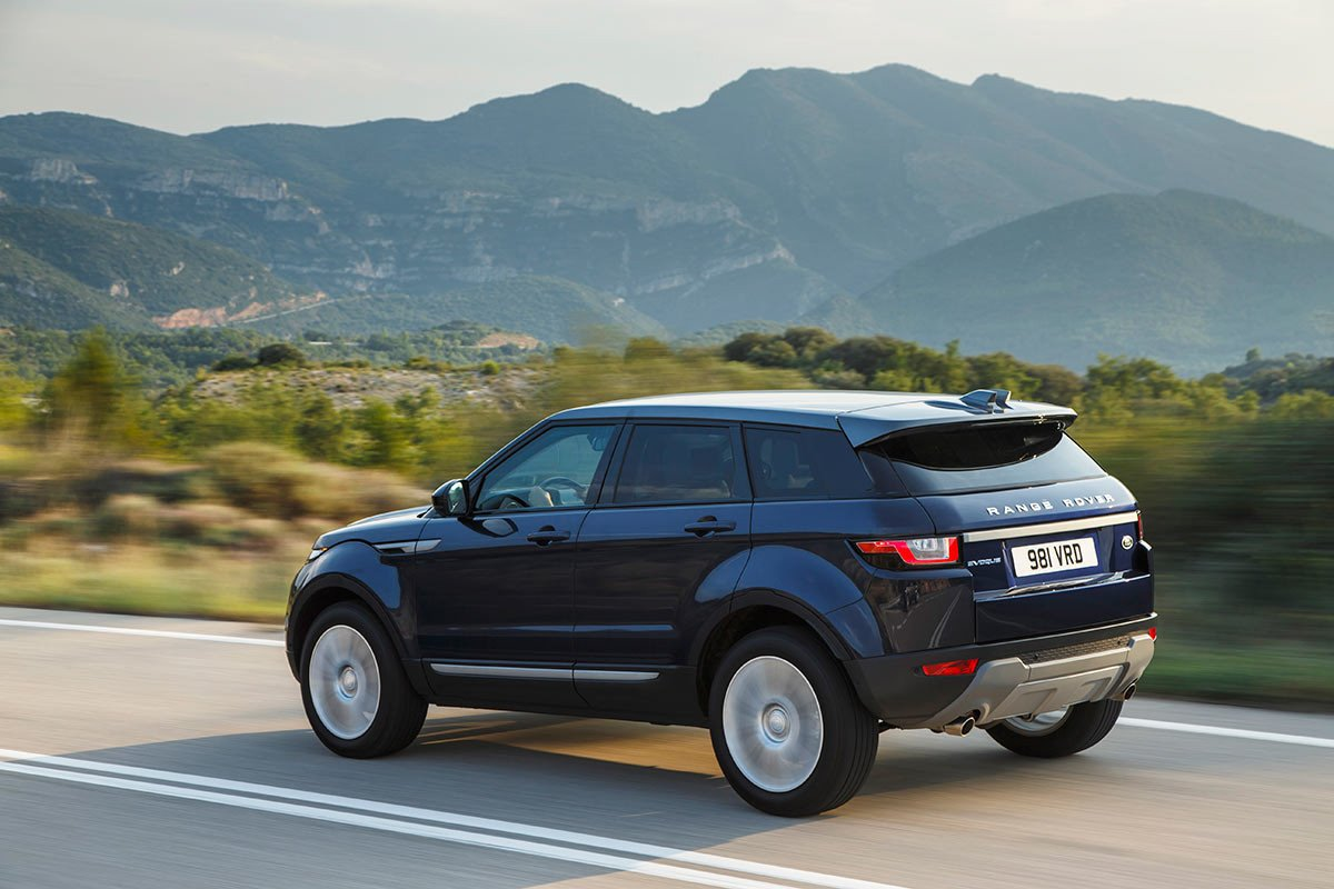 nuevo range rover evoque 2016 primera prueba fotos y video. Black Bedroom Furniture Sets. Home Design Ideas
