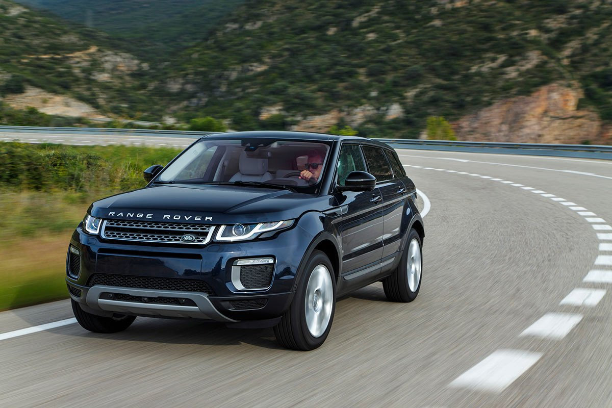 fotos nuevo range rover evoque 2016 primera prueba fotos y video. Black Bedroom Furniture Sets. Home Design Ideas