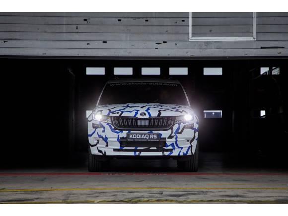 Vídeo: el Skoda Kodiaq RS ya tiene su récord en Nürburgring