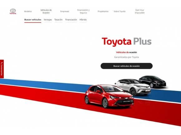 Toyota relanza su web de segunda mano con importantes novedades