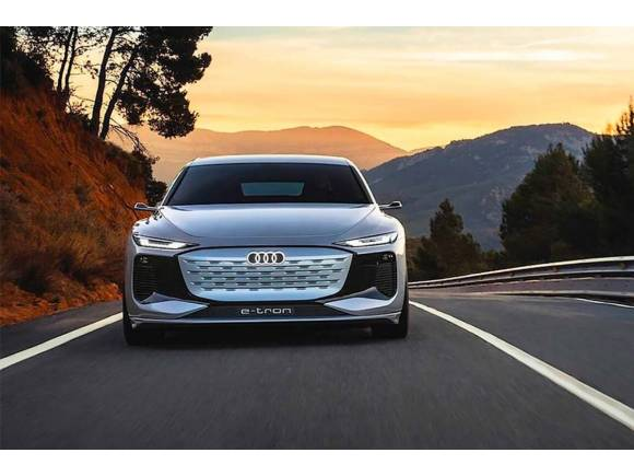 Audi A6 e-tron concept: el futuro eléctrico de Audi tiene 469 CV y 700 km de autonomía