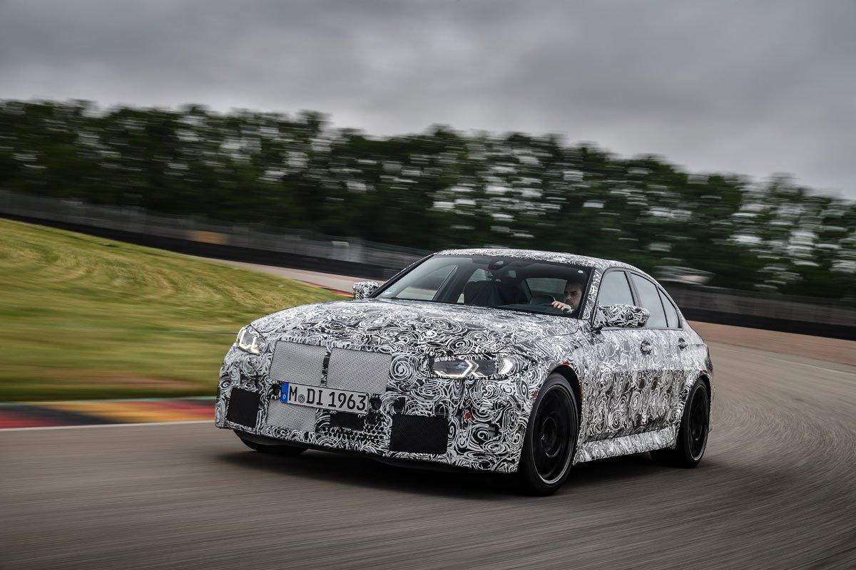 BMW M3 camuflado scoop