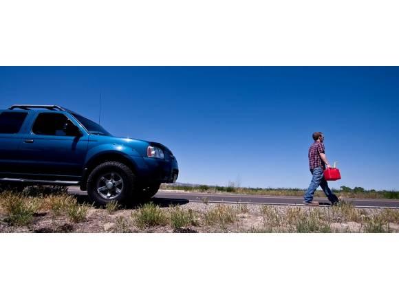 No, no te multan si te quedas tirado sin gasolina