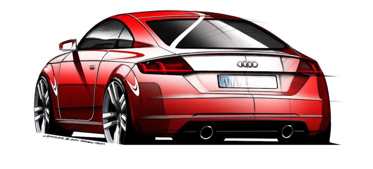 Nuevos Dibujos Y Datos Del Nuevo Audi Tt Que Se Presenta