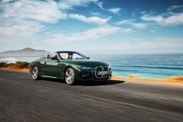 BMW Serie 4 cabrio: así es la versión descapotable de la nueva berlina alemana