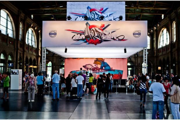 El Volvo XC60 y el arte se unen en Suiza