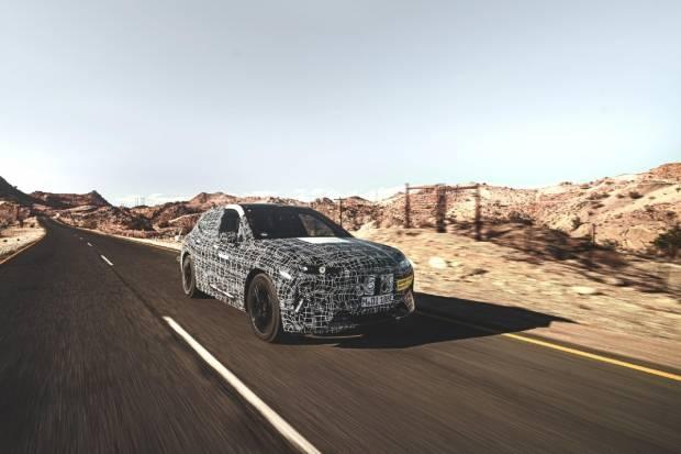 El BMW iNEXT examina sus capacidades en climas extremos