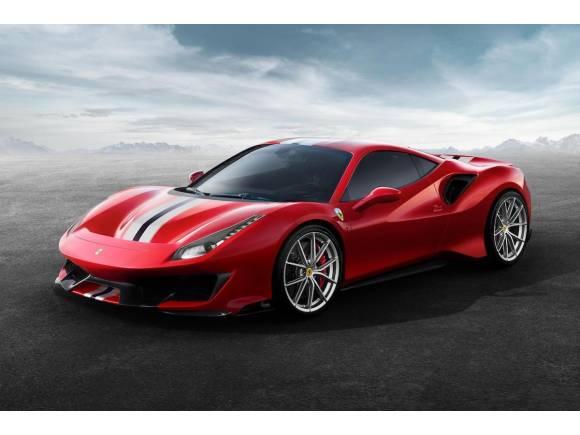 Nuevo Ferrari 488 Pista, con 720 CV