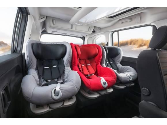 Todos los coches con tres asientos traseros independientes