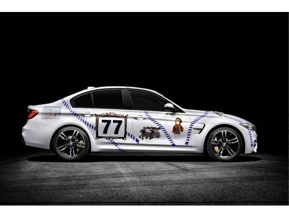 Un BMW M3 en honor a Munich para la Oktoberfest