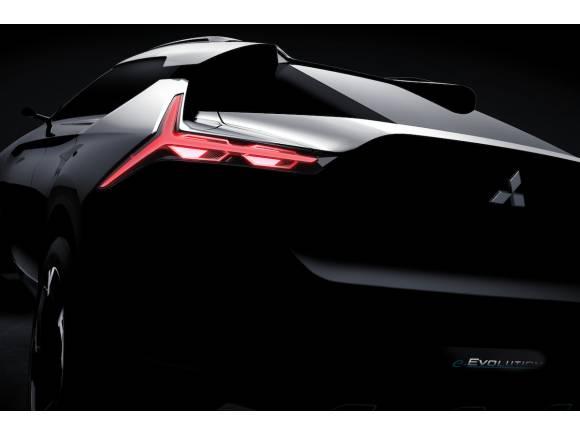 Nuevo Mitsubishi e-Evolution, prototipo de SUV electrificado