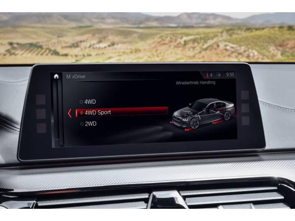 El nuevo BMW M5 llega hasta los 600 CV de potencia