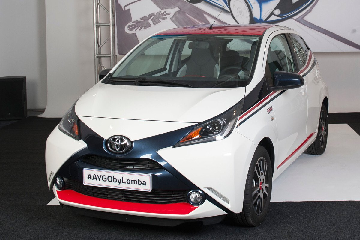 Toyota Aygo by Lomba