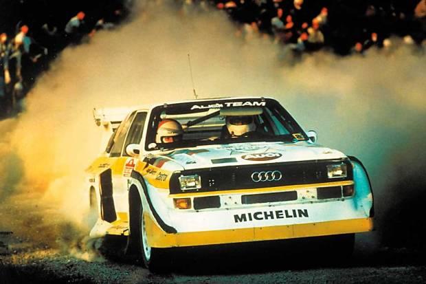 Audi Quattro: revolución en los Rallyes