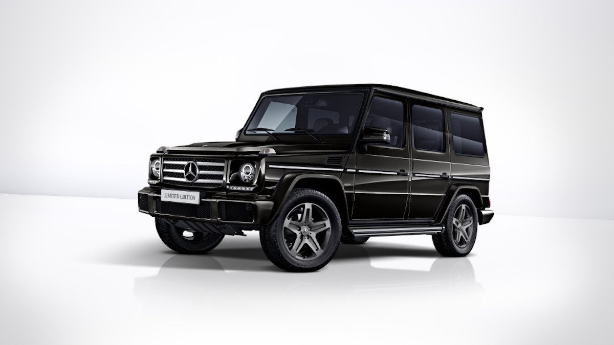 Mercedes G Limited Edition 2017