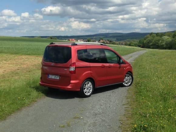 Presentación y prueba nuevo Ford Tourneo Courier