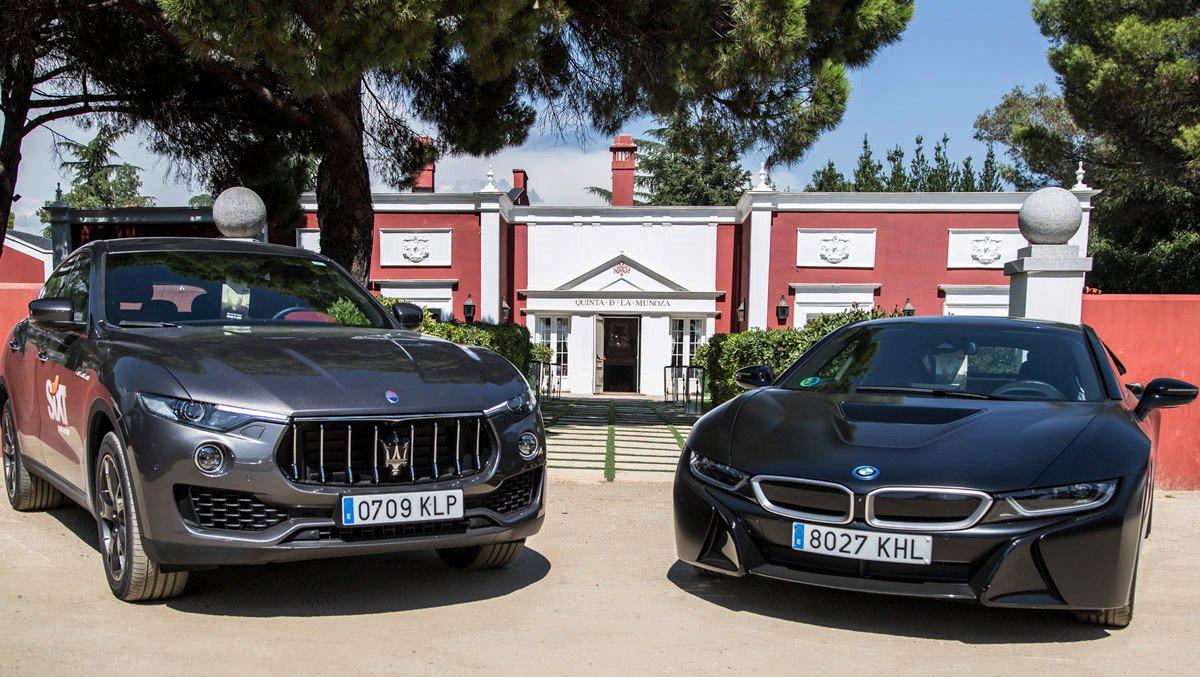 Maserati Levante BMW i8