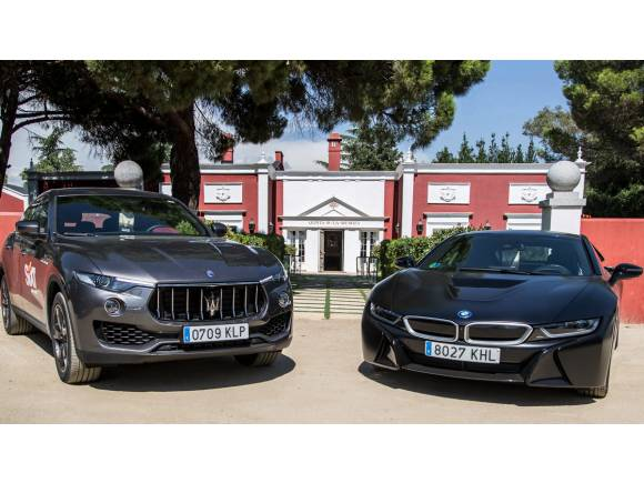 Mini Prueba: Audi RS 6 Avant, BMW i8 y Maserati Levante