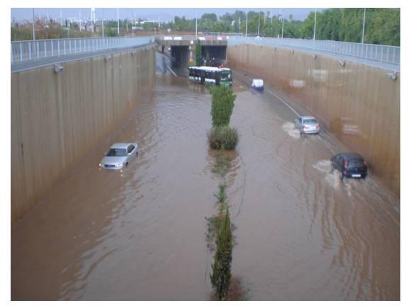 Siniestro por inundaciones: ¿las cubre el seguro de coche?