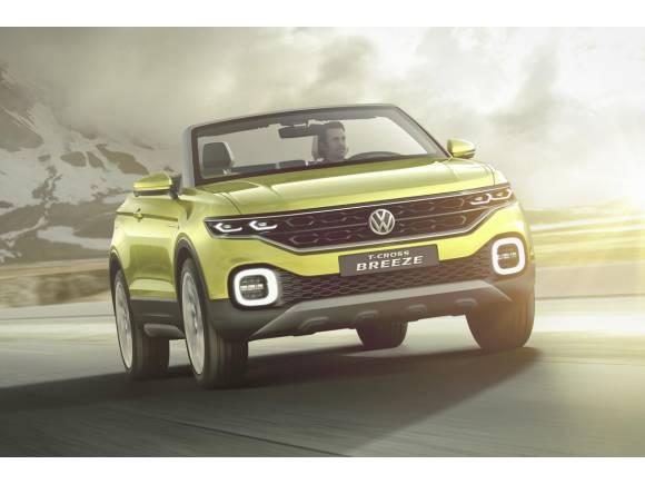 Volkswagen T-Cross Breeze, que tiemble el Evoque Cabrio