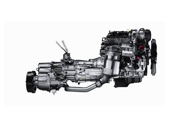 Nuevo motor para el Land Rover Defender
