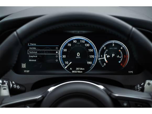 Prueba Jaguar F-PACE: interior, equipamiento y precios