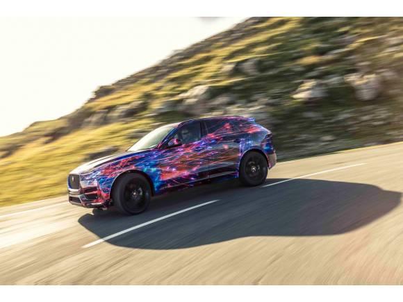 Nuevo Jaguar F-PACE, un SUV muy ágil