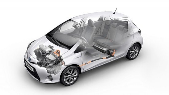 Mecánica del Toyota Yaris Híbrido