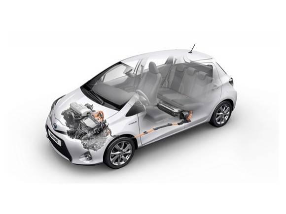 Prueba: con el Toyota Yaris Híbrido en Amsterdam