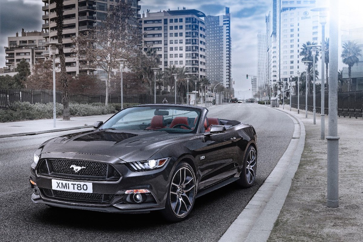 precio ford mustang 2015 en espa a desde euros. Black Bedroom Furniture Sets. Home Design Ideas