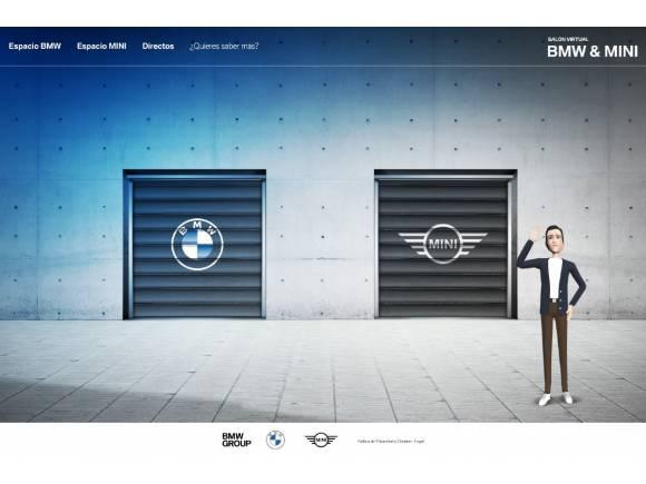 BMW, Mini y su salón del automóvil virtual. ¡Compra coches como en un videojuego!