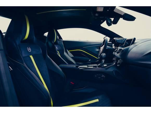 Nuevo Aston Martin Vantage AMR con cambio manual, edición limitada