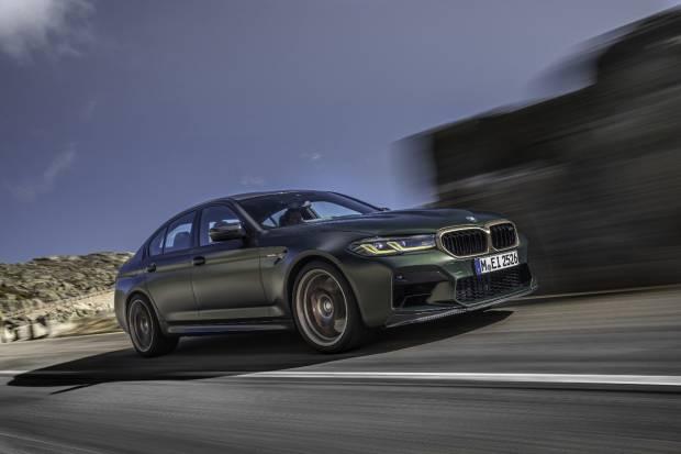 Nuevo BMW M5 CS: el modelo más potente de la historia de BMW M