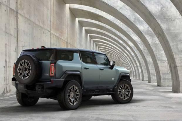 Conocemos la bestial versión SUV del GMC Hummer EV