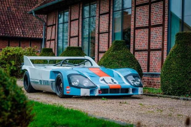 La joya reencontrada: Porsche 917/10